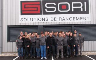 Les employés de SORI